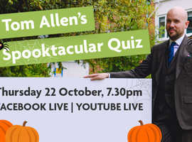 Tom Allen's Spooktacular Quiz with St Christopher's Hospice