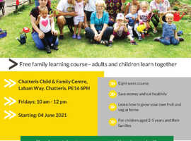 Grow it, Cook it, Share it - FREE 8-week course for children 2-5years and their families