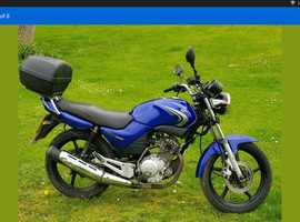 A Smart clean Yamaha YBR 125cc
