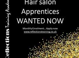 Hair Salon Apprentice wanted within the Birmingham area