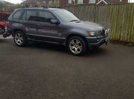 BMW X5, 2001 (51) Grey Estate, Automatic Petrol, 153,485 miles