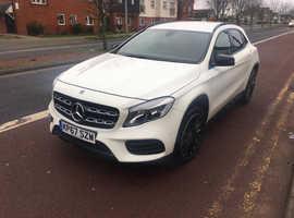 Mercedes GLA-CLASS, 2017 (67) White Estate, Automatic Diesel, 18,764 miles