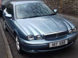 Jaguar X-TYPE, 2003 (53) blue saloon, Manual Diesel, 115,000 miles
