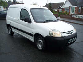 2007 Peugeot Partner 1.6HDI Manual, only 90k miles, 1yr Mot, Just serviced & Fresh front discs/pads
