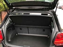 Volkswagen Polo, 2016 (66) Black Hatchback, Manual Petrol, 5,870 miles