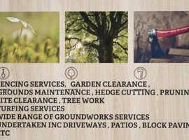 R & J TREE SURGERY & GARDEN MAINTENANCE