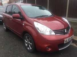 2011 Nissan Note N-Tec AUTOMATIC, 1.6 petrol, MOT, perfect condition, Climate control, Navigation
