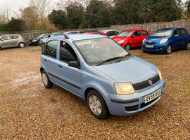 Fiat Panda, 2009 (59) Blue Hatchback, Manual Petrol, 51,774 miles