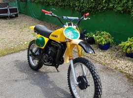 Suzuki Motocross Motorbike  RM250 C2 Vintage Very Rare and collectible
