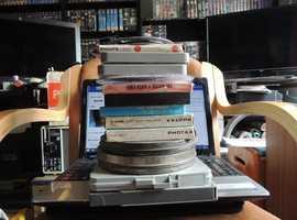 5x super 8 cine projectors and movies/cartoons as job lot