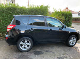 Toyota Rav4, 2009 (59) Black Estate, Manual Diesel, 143,000 miles