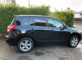 Toyota Rav4, 2009 (59) Black Estate, Manual Diesel, 143,000 miles