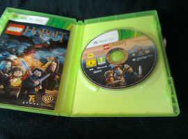 Xbox 360 video game Leggo Hobbit.