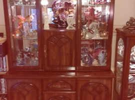 Pair of wall display units