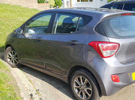 Hyundai i10, 2014 (64) grey hatchback, Manual Petrol, 49,500 miles
