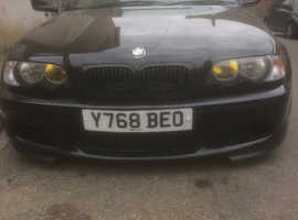 BMW 3 Series, 2001 (Y) Black Convertible, Manual Petrol, 137,000 miles
