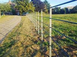 Top quality steel fencing/railings/gates