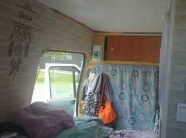 Cosy and fully functional High Roof Ford Transit