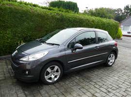 Peugeot 207, 2010 (59) Grey Hatchback, Manual Diesel, 35,800 miles