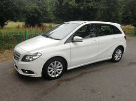 MERCEDES B180 BLUEEFFICIENY 2012 REG, 106,000 MILES, LONG MOT, NICE SPEC & ONLY £30 A YEAR TO TAX
