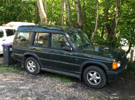 Land Rover Discovery, 1999 (T) Green Estate, Manual Diesel, 164,000 miles
