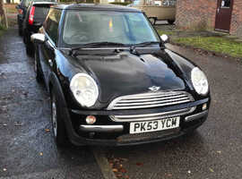 Mini MINI, 2003 (53) Black Hatchback, Manual Petrol, 76,465 miles