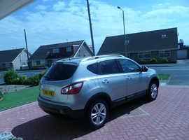 Nissan Qashqai, 2010  N-Tec DCI  BLADE  Silver hatchback, Manual Diesel,    £4,200 ONO