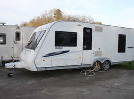 Compass Rallye 634 2009 4 Berth Fixed Bed Twin Axle Caravan