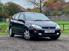 Ford Focus, 2001 (Y) Grey Hatchback, Automatic Petrol, 121,790 miles, MOT MARCH 2021