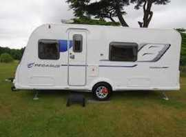 Excellent condition 2016 Bailey Pegasus Brindisi touring caravan.