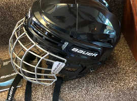 Bauer IMS 5.0 Ice Hockey Helmet and face mask