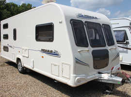 Bailey Pegasus 546 2010 6 Berth Triple Fixed Bunk Beds Caravan + Motor Movers