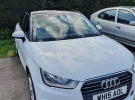 Audi A1, 2015 (15) White Hatchback, Manual Petrol, 28,000 miles