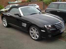 Chrysler Crossfire, 2004 (04) black Convertible, Automatic Petrol, 52750 miles