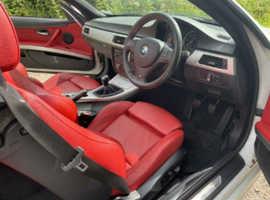 BMW 3 Series, 2010 (60) White Convertible, Manual Diesel, 68,000 miles