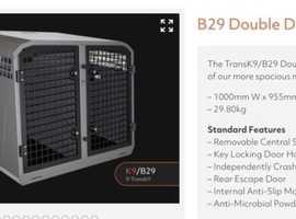 Trans K9 / TransK9 Dog Transit Cage / Crate B29 Model