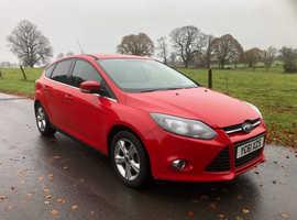 Ford Focus, 2011 (61) Red Hatchback, Manual Petrol, 55,939 miles
