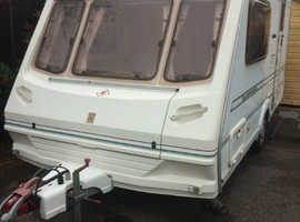 Abbey expression 380 2001 2 berth with motor mover in good condition
