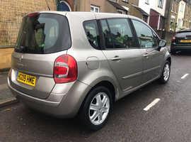 Renault Modus, 2009 (09) Beige Hatchback, Manual Petrol, 115,000 miles