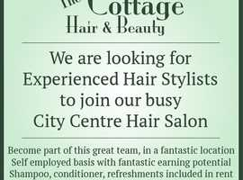 Self employed or employed hairstylist needed