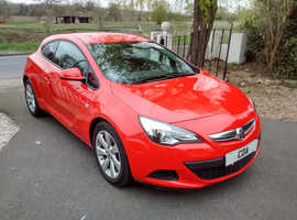 2014/64 Vauxhall Astra Gtc 2.0 SPORT CDTI FSH SAT NAV 2 KEYS STUNNING FINANCE AVAILABLE