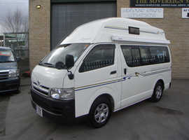 Toyota Hiace 2008 with new conversion by Wellhouse later 2.0 petrol Auto model