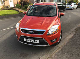 Ford Kuga, 2011 (11) Red Estate, Manual Diesel, 74,680 miles