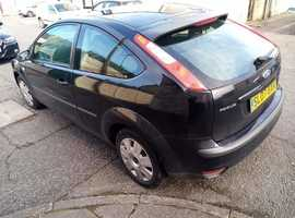 Ford Focus, 2007 (07) Black Hatchback, Manual Petrol, 138,000 miles