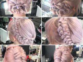 Bridal hair salon eccleshall