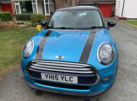 Mini MINI, 2015 (15) Blue Hatchback, Manual Petrol, 26,000 miles