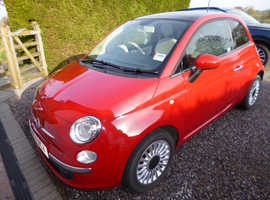 Fiat 500, 2014 (14) Red Hatchback, Manual Petrol, 28,800 miles