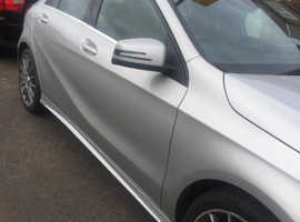 Mercedes A-CLASS, 2015 (15) silver hatchback, Automatic Diesel, 62,500 miles