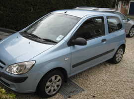 Hyundai Getz, 2007 (07) Blue Hatchback, Manual Petrol, 78,000 miles