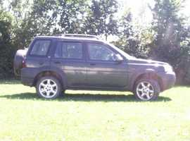 Land Rover Freelander, 2003 (53) Green Estate, Manual Petrol, 111,000 miles